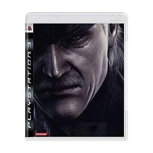 Jogo Metal Gear Solid 4: Guns of Patriots - PS3