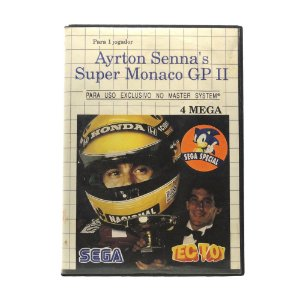Jogo Ayrton Senna's Super Monaco GP II - Master System