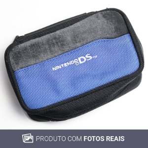 Case Azul e Preta - DS