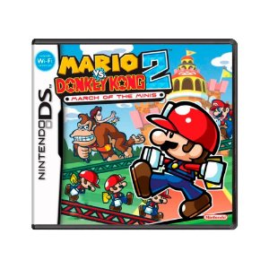 Jogo Mario vs. Donkey Kong 2: March of the Minis - DS