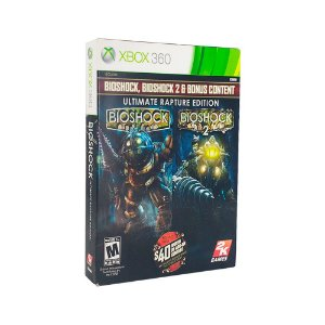 Jogo Bioshock & Bioshock II: Ultimate Rapture Edition - Xbox 360