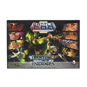 Jogo de Tabuleiro BattleCON: Destino de Indines - Level 99 Games