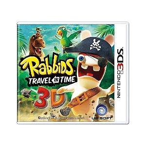 Jogo Rabbids: Travel in Time 3D - 3DS [Europeu]