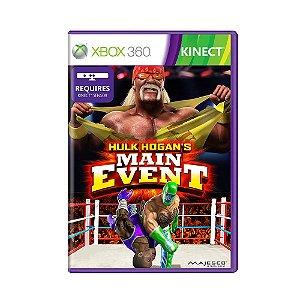 Jogo Hulk Hogans's Main Event - Xbox 360
