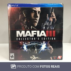 Jogo Mafia III (Collector's Edition) - PS4 [Lacrado]
