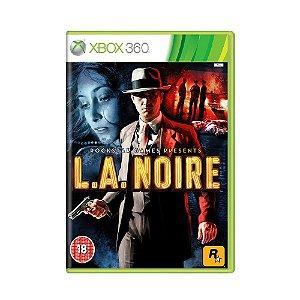 Jogo L.A. Noire - Xbox 360 [Europeu]