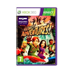 Jogo Kinect Adventures - Xbox 360 [Europeu]