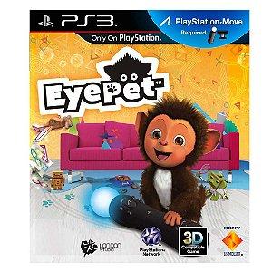 Jogo EyePet: Move Edition - PS3 (Capa Dura)