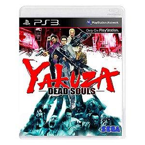 Jogo Yakuza: Dead Souls - PS3