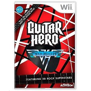 Jogo Guitar Hero: Van Halen - Wii
