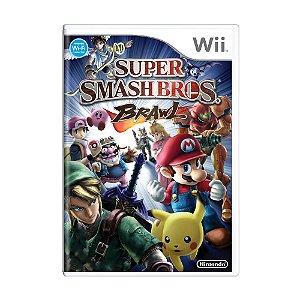 Jogo Super Smash Bros: Brawl - Wii