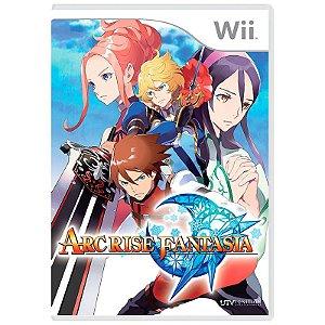 Jogo Arc Rise Fantasia - Wii