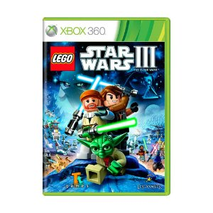 Jogo LEGO Star Wars III: The Clone Wars - Xbox 360