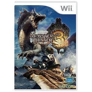 Jogo Monster Hunter Tri - Wii