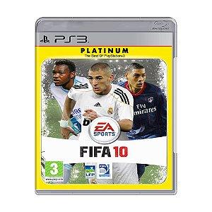 Jogo Fifa 10 (FIFA 2010) - PS3