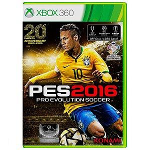 Jogo Pro Evolution Soccer 2016 (PES 16) - Xbox 360