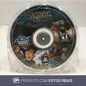 Jogo Untold Legends: The Warrior's Code - PSP
