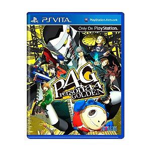 Jogo Persona 4 Golden - PS Vita