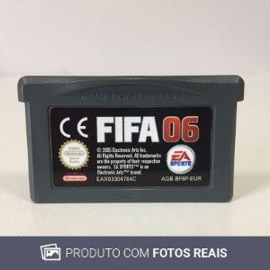 Jogo FIFA 06 - GBA Game Boy Advance