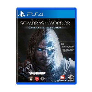 Jogo Terra Média: Sombras de Mordor (Game of the Year Edition) - PS4