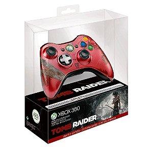 Controle Microsoft Edição Especial Tomb Raider sem fio - Xbox 360