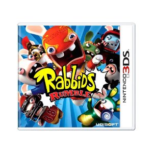 Jogo Rabbids Rumble - 3DS