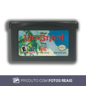 Jogo Disney's Lilo & Stitch - GBA Game Boy Advance