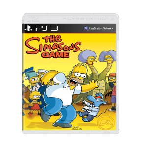 Jogo The Simpsons Game - PS3