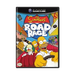 Jogo The Simpsons Road Rage - GC