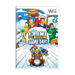 Jogo Club Penguin: Game Day! - Wii