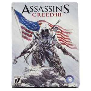 Jogo Assassin's Creed III (SteelCase) - Xbox 360