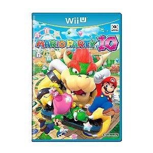Jogo Mario Party 10 - Wii U