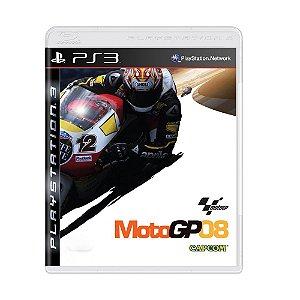 Jogo MotoGP 08 - PS3