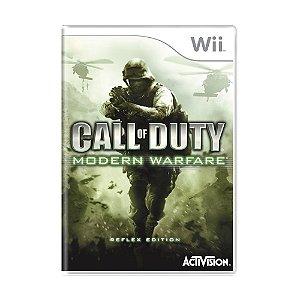 Jogo Call of Duty: Modern Warfare - Wii