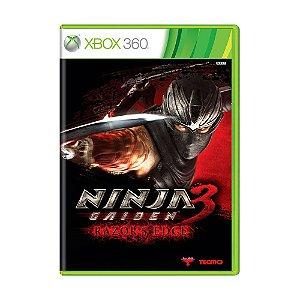 Jogo Ninja Gaiden 3: Razors Edge - Xbox 360