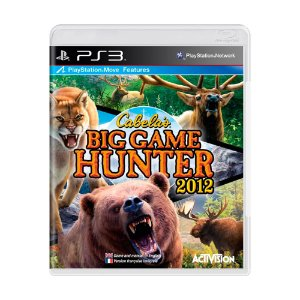 Jogo Cabela's Big Game Hunter 2012 - PS3