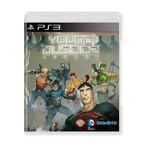 Jogo Young Justice Legacy - PS3