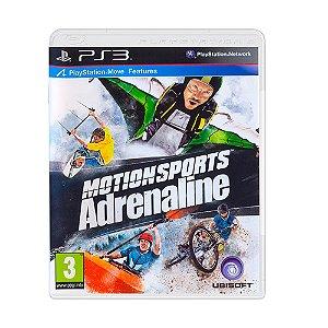 Jogo Motionsports Adrenaline - PS3 [Europeu]