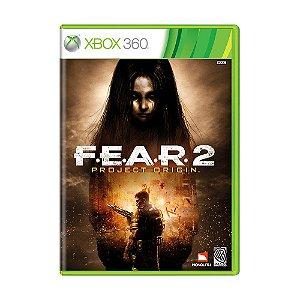Jogo F.E.A.R. 2: Project Origin - Xbox 360