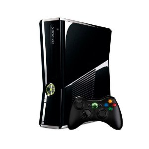 Console Xbox 360 Slim 250GB Black Piano - Microsoft