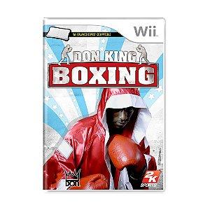 Jogo Don King Boxing - Wii