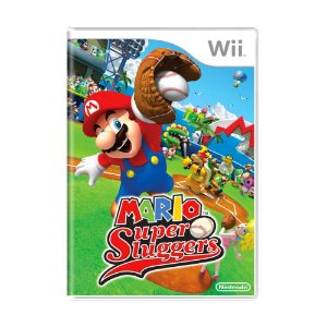 Jogo Mario Super Sluggers - Wii