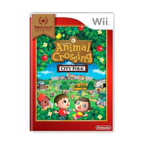 Jogo Animal Crossing: City Folk - Wii