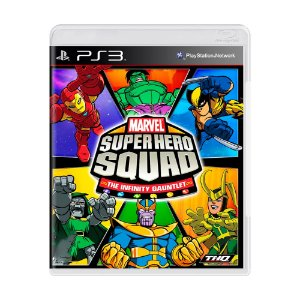 Jogo Marvel Super Hero Squad - PS3