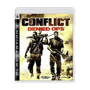 Jogo Conflict: Denied Ops - PS3