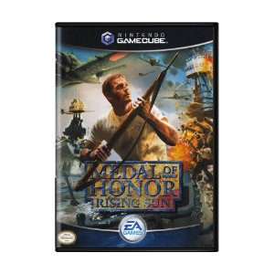 Jogo Medal of Honor: Rising Sun - GameCube
