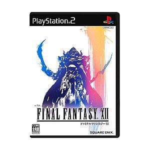 Jogo Final Fantasy XII - PS2 (Japonês)