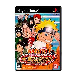 Jogo Naruto Konoha Spirits [Japonês] - PS2