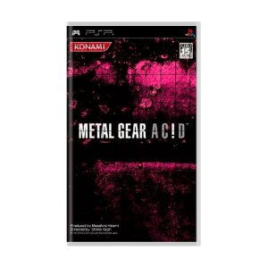 Jogo Metal Gear Acid [Japonês] - PSP