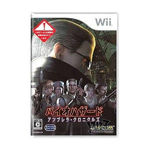 Jogo Resident Evil: The Umbrella Chronicles [Japonês] - Wii